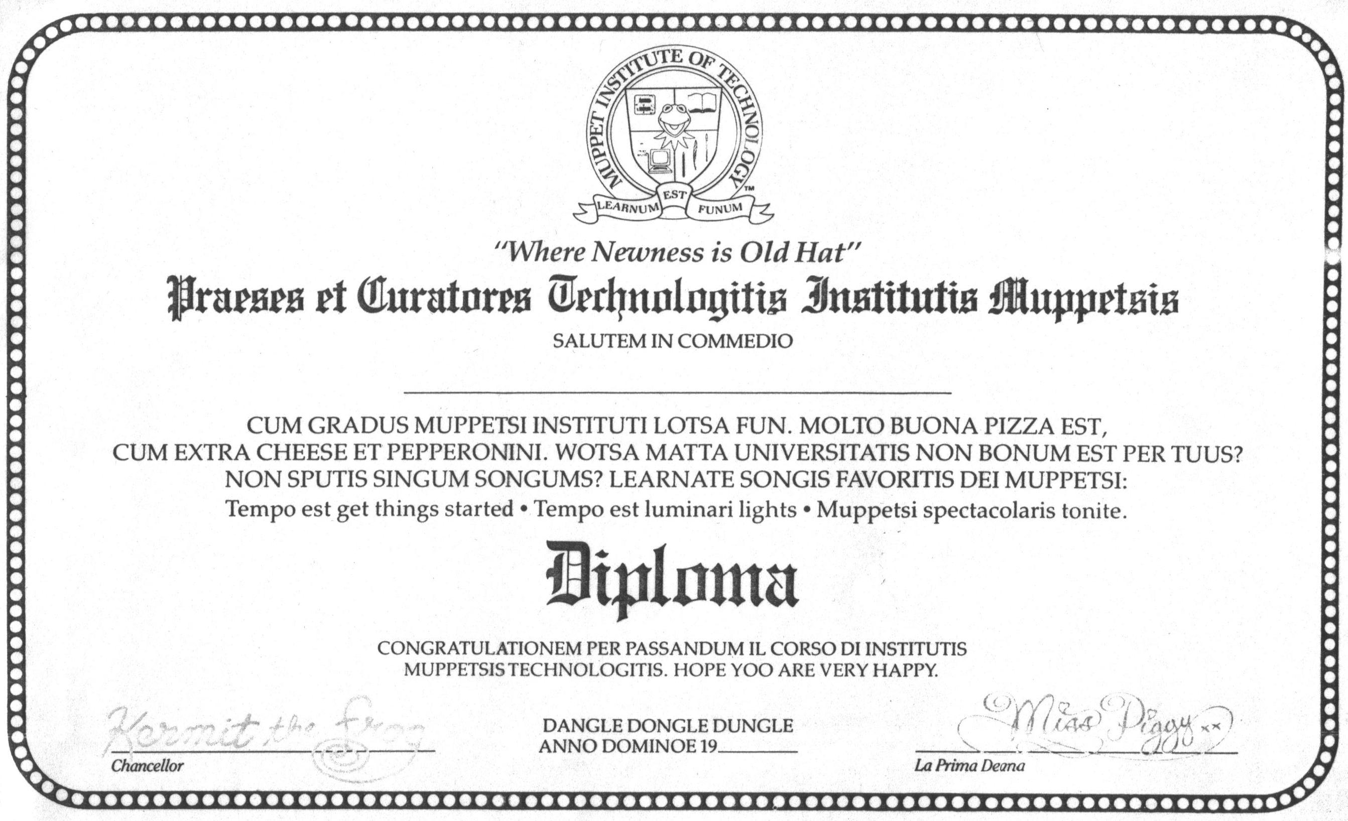 Jeffrey Jonas: certifications, degrees, diplomas, honors